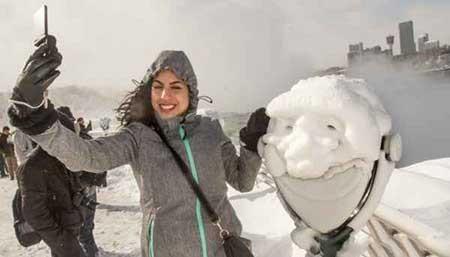 عکسهای جالب, مجسمه ی یخ زده ,تصاویر دیدنی