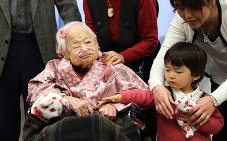 تصاویر دیدنی,پیرترین زن,تصاویر جالب