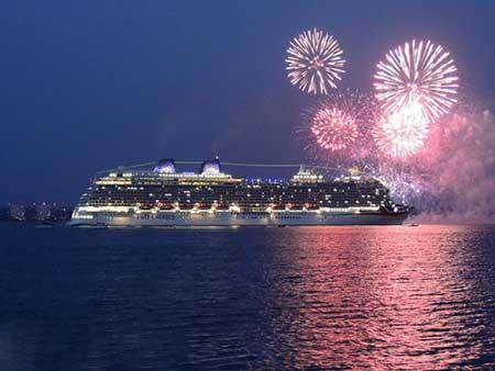 تصاویر دیدنی,بزرگترین کشتی تفریحی ,تصاویر جالب