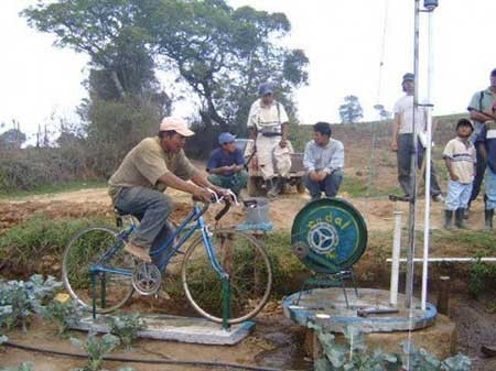 اخبار,اخبار گوناگون ,روستایی که با دوچرخه می چرخد
