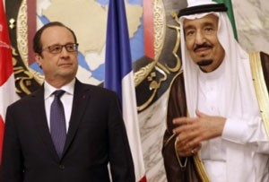 روابط ایران و عربستان تیره شود، اولاند جانب سعودی ها را می گیرد