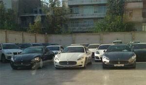 توقیف 47 خودروی لوکس در شمال تهران