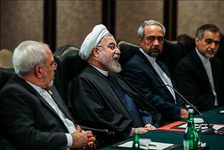تصاویری از دیدار دکتر روحانی و رئیسجمهور چین