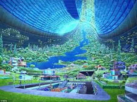 عجیبترین ایدهها برای محل سکونت انسان آینده در فضا