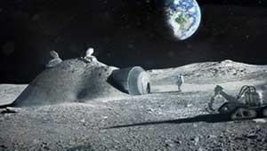 ساخت پایگاه دائمی در سوی تاریک ماه