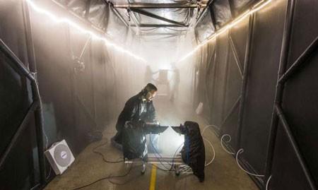 اخبار , اخبار علمی,نخستین اتاق تولید مه مصنوعی جهان,تصاویر اتاق تولید مه مصنوعی جهان