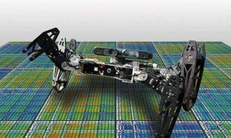 رباتی که ظرف دو دقیقه خود را ترمیم میکند
