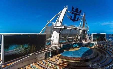 بزرگترین کشتی مسافربری جهان+تصاویر