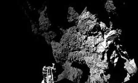 پایان غمانگیز روزتا در برخورد با سیارک اسرار آمیز + تصاویر