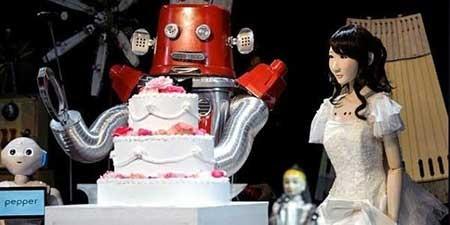 اخبار,اخبار علمی ,مراسم ادواج روبات ها