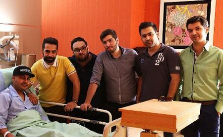اخبار,اخبار فرهنگی,بهنام صفوی در بیمارستان