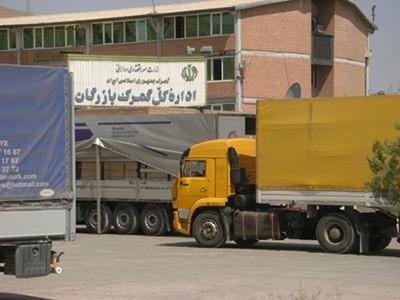 94 05 gh1828 آتش زدن کامیون ایرانی در ترکیه/ مرز بازرگان بسته شد