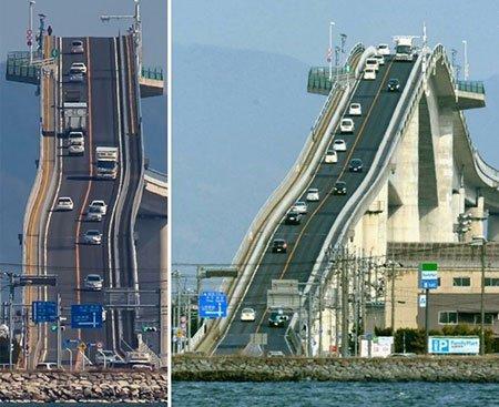 اخبار,اخبار ورزشی ,شیب دارترین پل ماشین رو