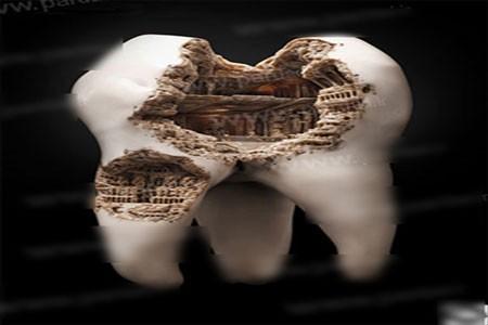 اخبار,اخبارگوناگون ,آثار هنری روی دندان های انسان