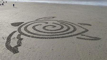 اخبار , اخبار گوناگون,تصاویر ربات ساحلی هنرمند,تصاویر ربات هنرمند
