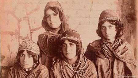 دختر ایرانی 120 سال پیش+تصاویر نایاب