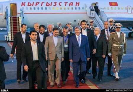 اخبار,اخبار سیاست خارجی ,سفر رئیس جمهور قرقیزستان به ایران