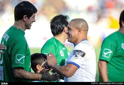 اخبار,اخبار ورزشی,بازی فوتبال ستارگان دنیا و ستارگان ایران