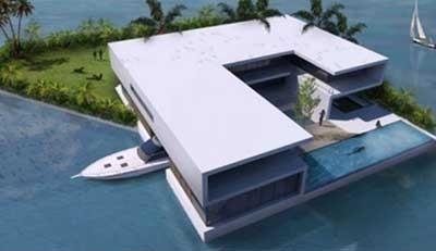 جزیره قابل حمل بخرید! +عکس