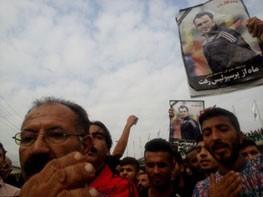 صدای گریه های همسر و برادران هادی نوروزی جگر همه را سوزاند