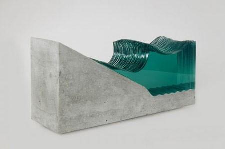 اخبار , اخبار گوناگون,مجسمه هایی از شیشه و بتن,ساخت مجسمه هایی از شیشه و بتن