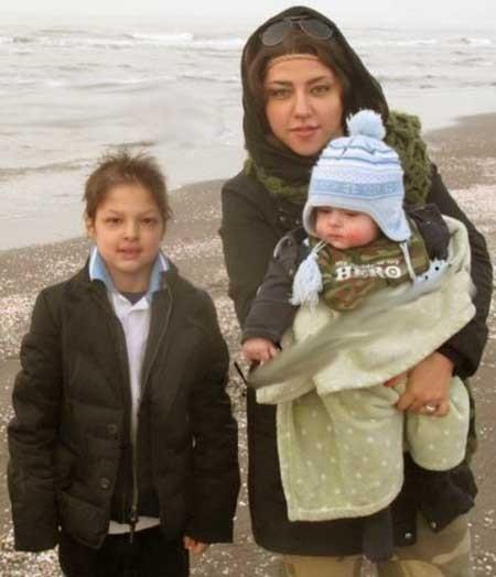 شهاب حسینی با دو پسرش در فیلم جدید اصغر فرهادی,  پریچهر حسینی(همسر شهاب) و فرزندانش در تصویری مربوط به چند سال قبل