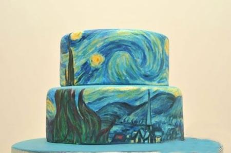 اخبار,اخبار گوناگون,نقاشی روی کیک