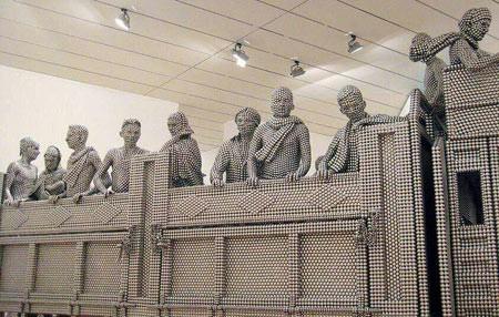 اخبار,اخبار گوناگون,ساخت مجسمه با ساچمه