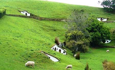 تصاويري منحصر به فرد از يك روستاي بسيار زيبا