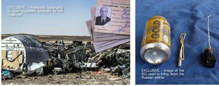 عکس بمبی که داعش با آن هواپیمای روسیه را منفجر کرد