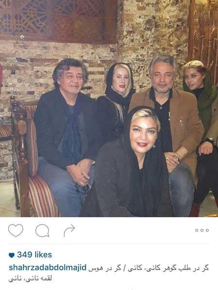 عکس بازیگران ایرانی در کنار همسرانشان