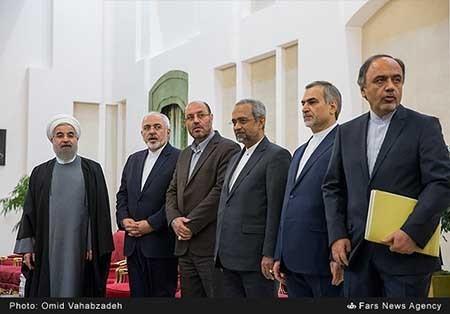 دیدار و نشست مشترک رؤسای جمهوری ایران و روسیه/تصاویر