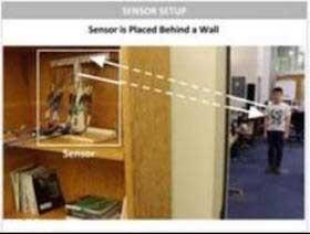 ردیابی افراد از پشت دیوار امکان پذیر شد