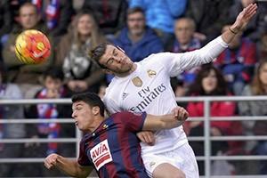 پیروزی رئال مادرید بر ایبار/ فاصله با بارسلونا کاهش یافت
