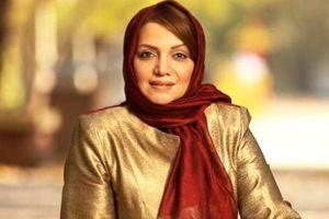 عکس خانم بازیگر با چادر درحال زیارت شاه چراغ!!