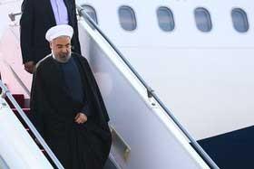 رئیس جمهوری وارد مشهد شد
