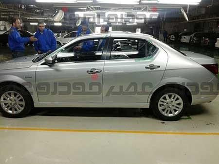 تصاویر از خط تولید خودروی دنا جدید ایران خودرو