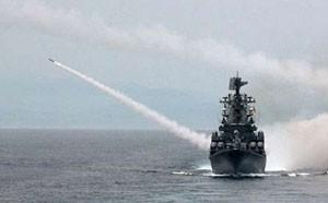 شلیک کشتی های جنگی روسیه در برابر کشتی ترکیه