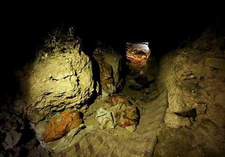 تصاویری از تونلهای زیرزمینی داعش در عراق