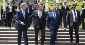 کری در روسیه برای یافتن راه حلی درباره روند صلح سوریه