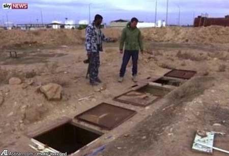 کشف اتاق های تجاوز داعشی ها به زنان ایزدی (+تصاویر)