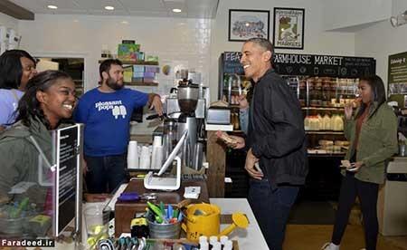 اخبار,اخبار بین الملل  ,باراک اوباما در کتابفروشی
