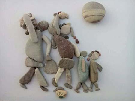 اخبار,اخبار گوناگون,هنرمند سوری که رنج را به تصویر میکشد