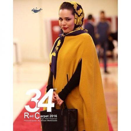 ملیکا شریفی نیا در جشنواره فجر + عکس