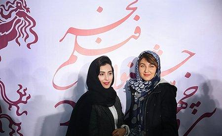پوشش متفاوت گلوریا هاردی بازیگر کیمیا و همسرش در جشنواره فجر! عکس