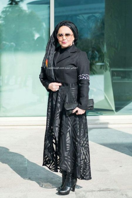 مدل لباس بهنوش بختیاری در جشنواره فیلم فجر
