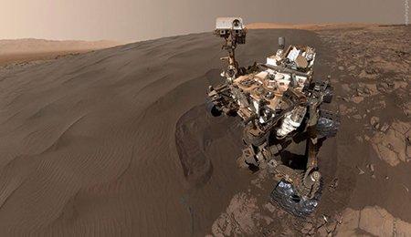 اخبار,اخبار علمی, عکس جدید ناسا از سطح کره مریخ