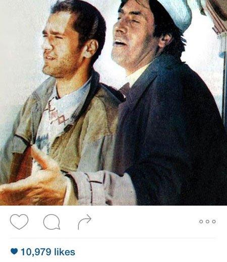 جدیدترین عکس بازیگران و اشخاص مشهور در شبکه های مجازی