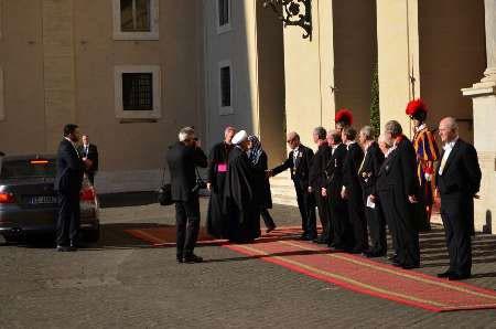 اخبار,اخبار  سیاست  خارجی  ,دیدار  روحانی با پاپ  فرانسیس