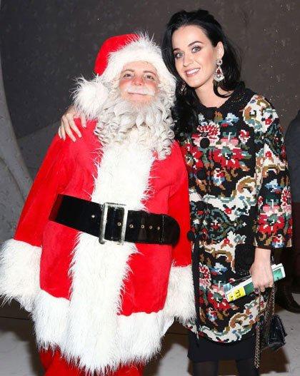 ستاره های هالیوود در کنار بابانوئل +عکس